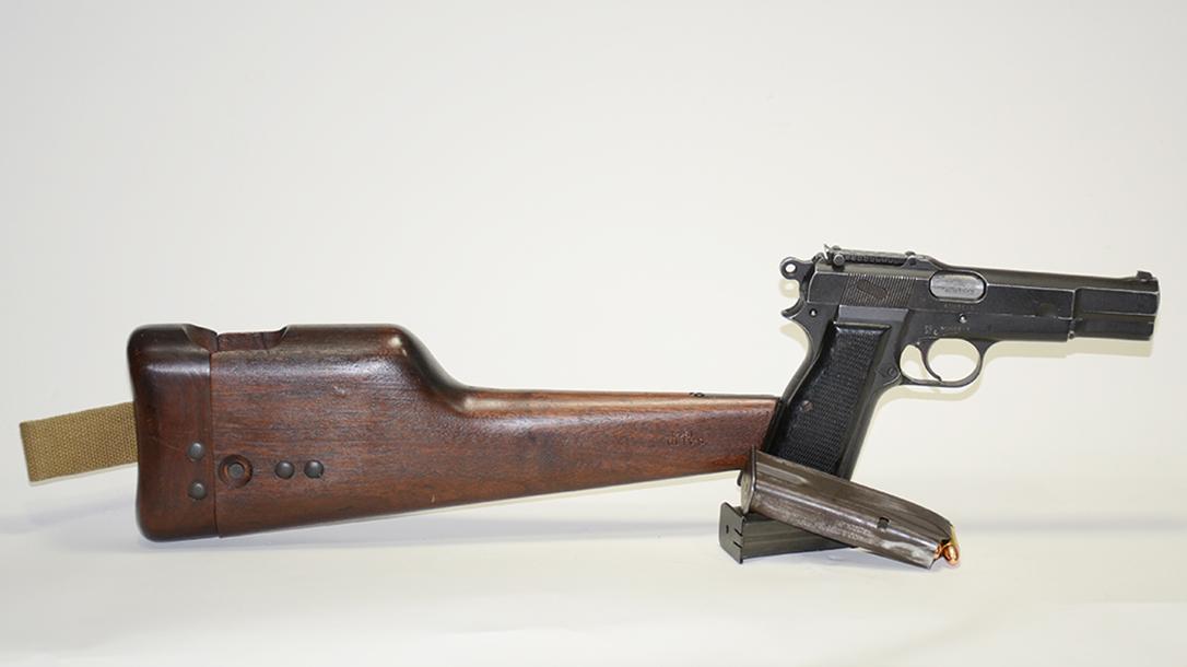 Inglis Hi-Power pistol stock