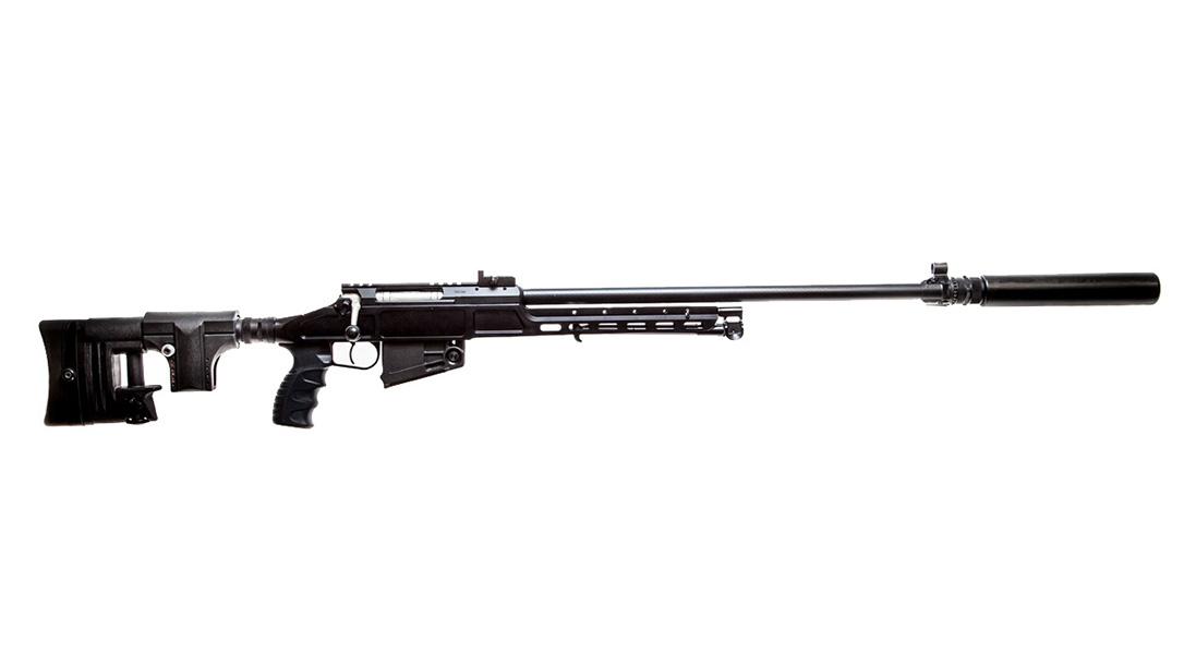 Kalashnikov sv-98 rifle right profile