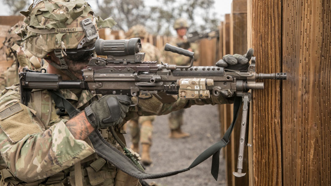us army squad automatic weapon, companies bid