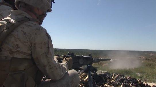 m2a1 .50 bmg machine gun ma deuce