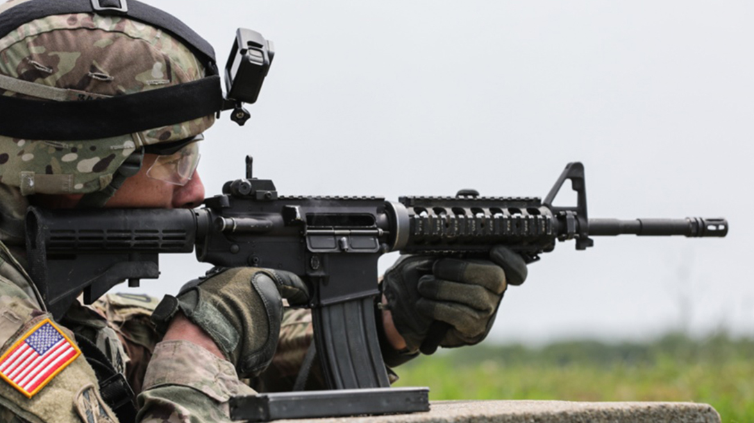 sig sauer Suppressed Upper Receiver Group m4a1 rifle army