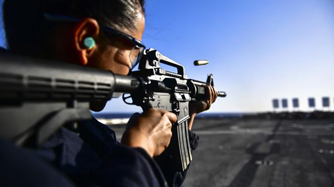 sig sauer Suppressed Upper Receiver Group m4a1 rifle navy