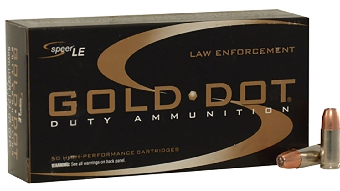speer gold dot duty ammo