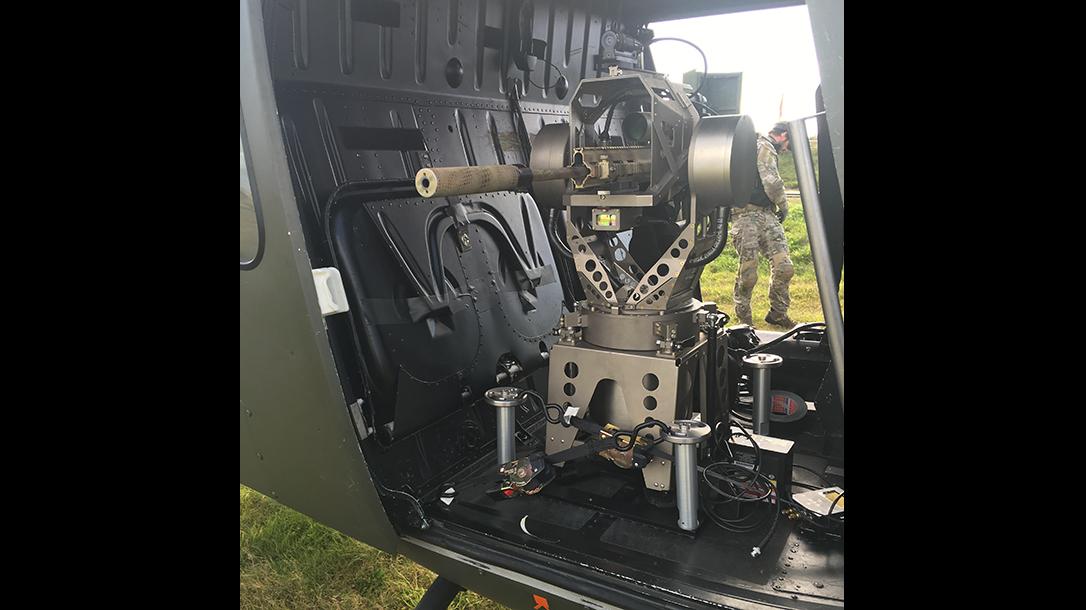 Paradigm SRP talon mount helicopter