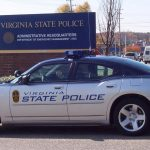 virginia state police vehicle