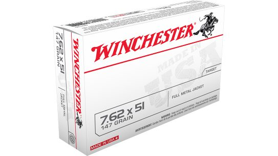 winchester ammo contract, 7.62mm army ammunition