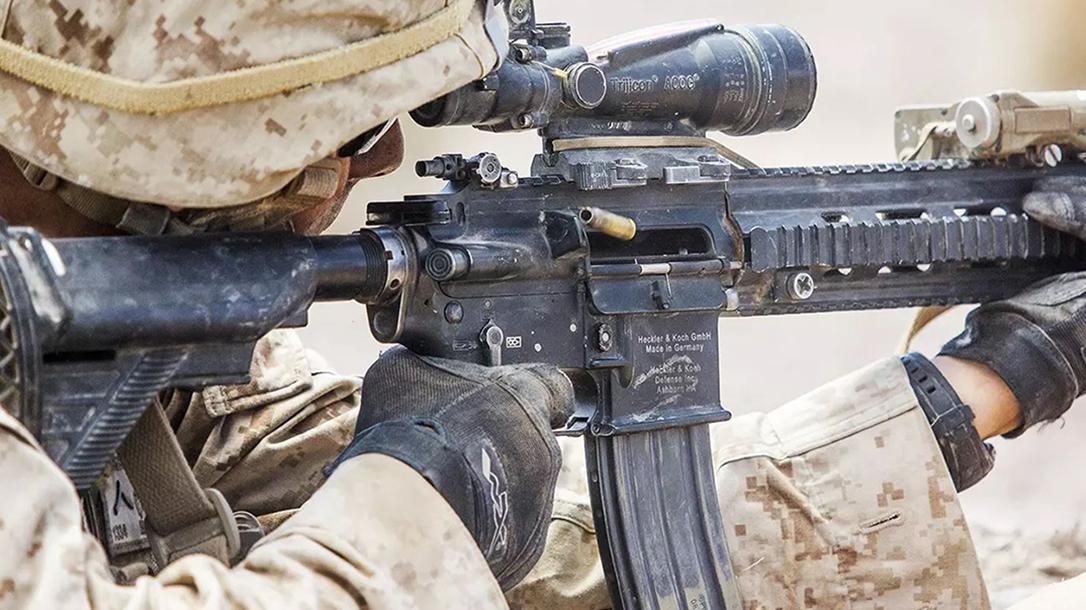 ar myths, ar myth, ar misconceptions, hk AR rifle firing