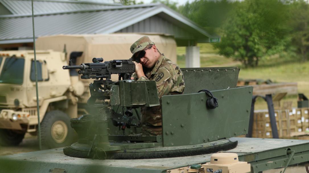 us army, us army mounted machine gun optic, mounted machine gun optic, M240B