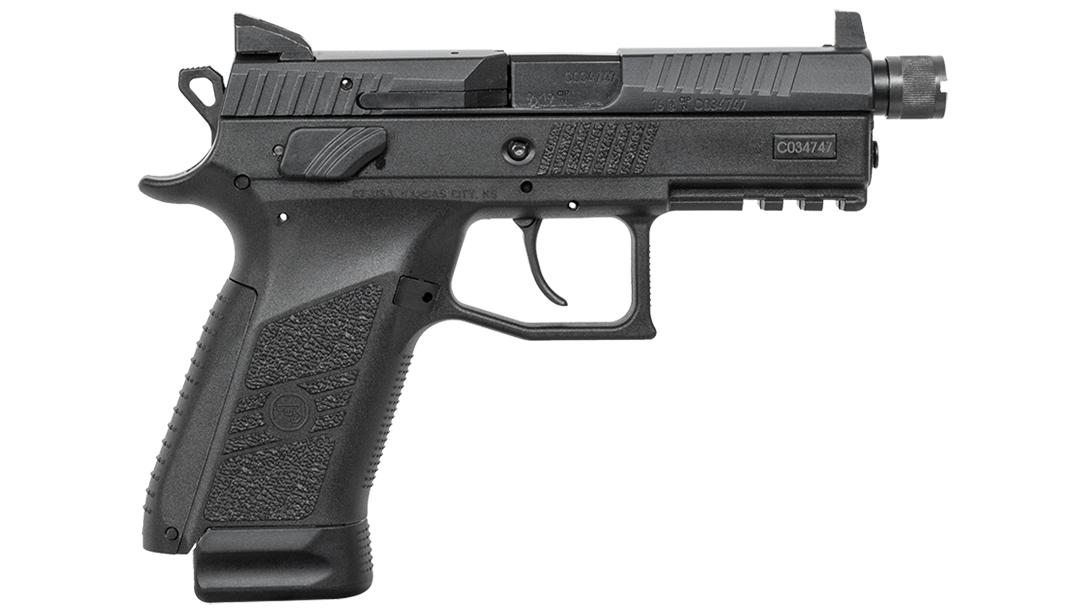 CZ P-07 Suppressor Ready pistol right profile