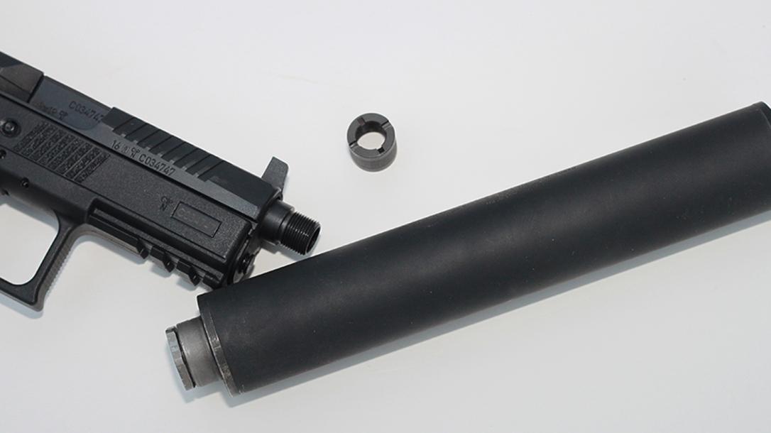 CZ P-07 Suppressor Ready pistol barrel