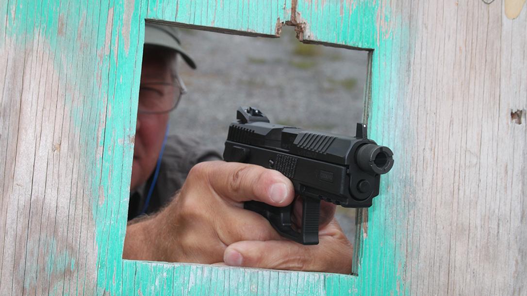 CZ P-07 Suppressor Ready pistol door