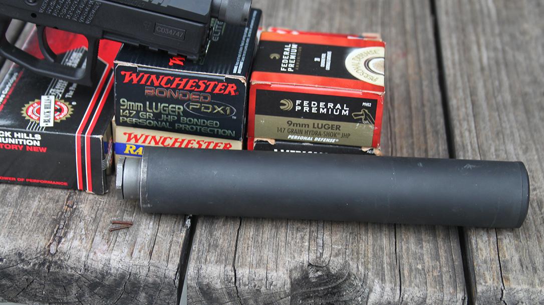 CZ P-07 Suppressor Ready pistol yankee hill machine