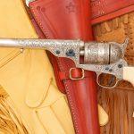 colt open top revolver left profile