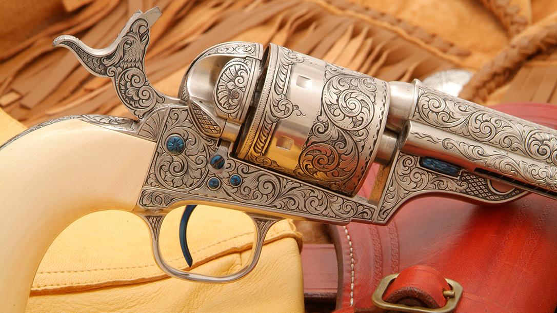 colt open top revolver cylinder