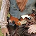colt open top revolver outfit