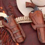 colt open top revolver belt