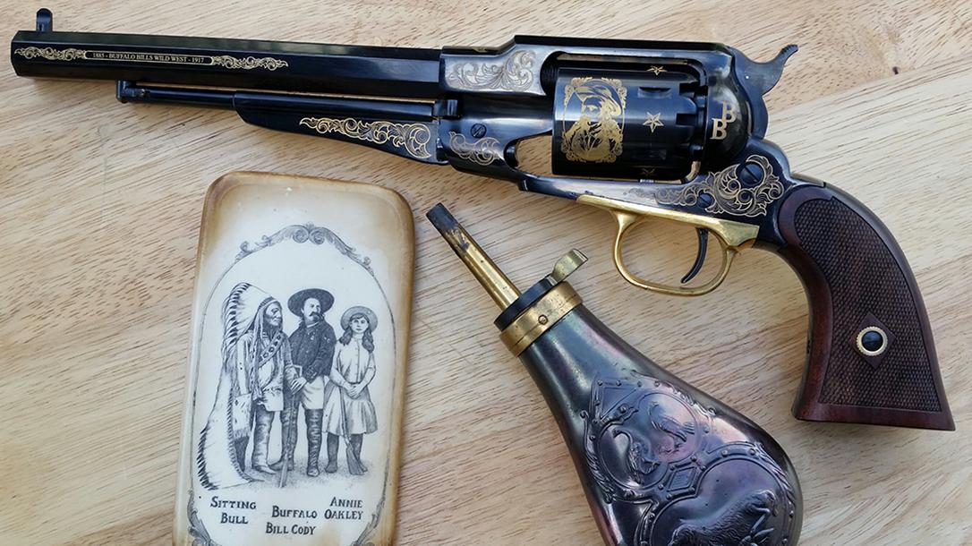 EMF 1858 Buffalo Bill Commemorative revolver