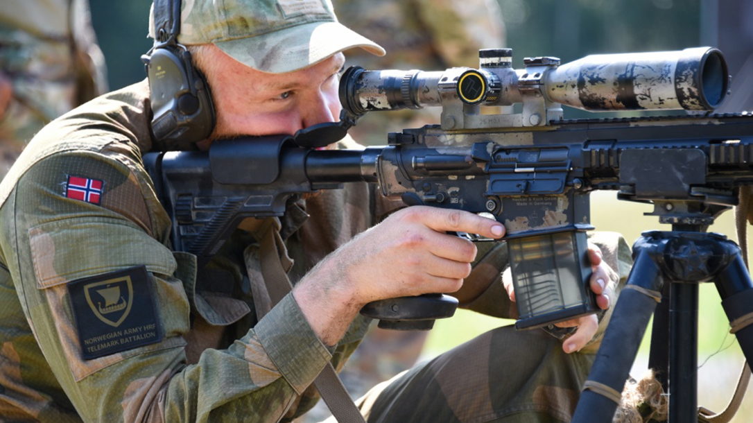 europe best sniper competition norwegian soldier
