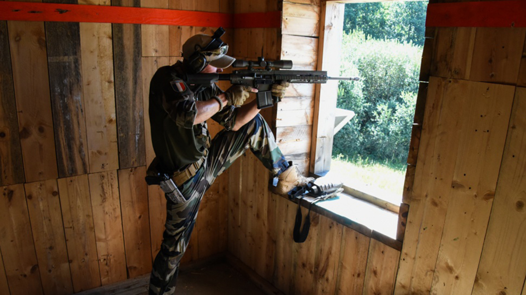 europe best sniper competition french soldier