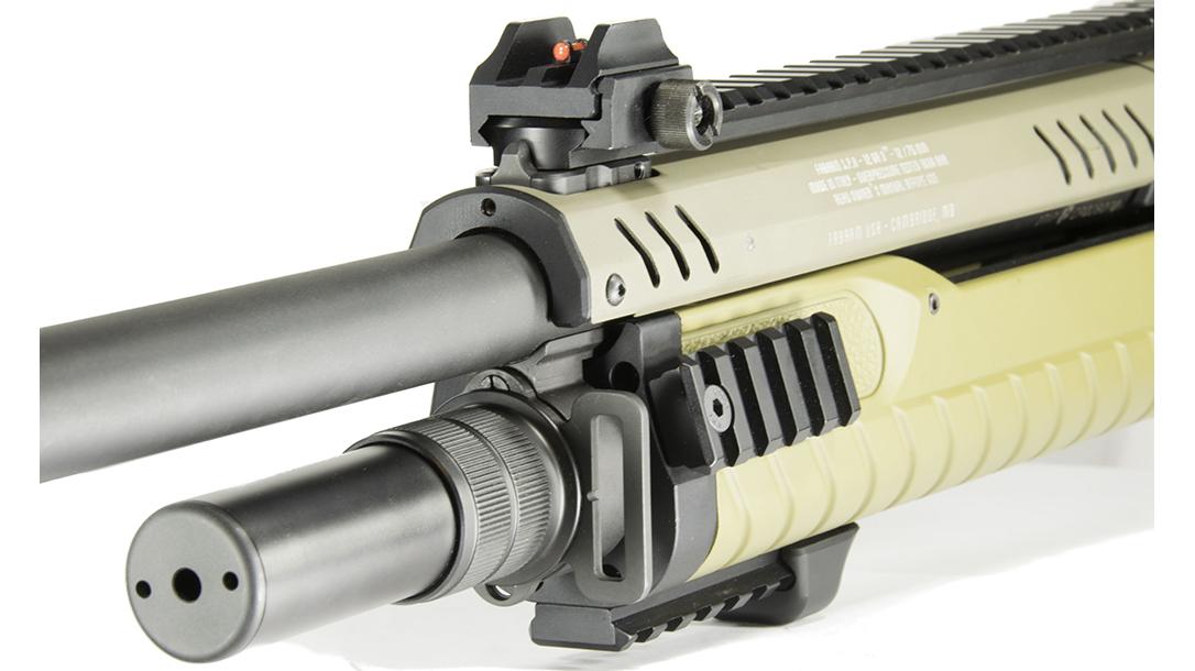 Fabarm STF 12 shotgun sights