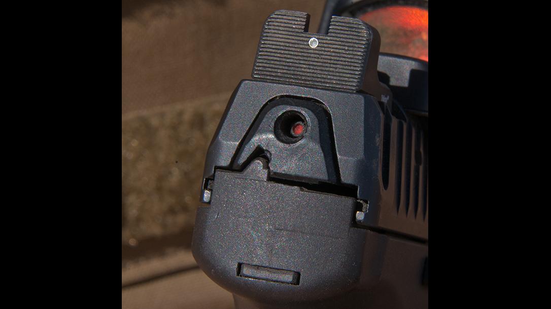heckler & koch, heckler & koch vp9, hk, hk vp9, hk vp9 pistol, hk vp9 pistol serrated rear sight