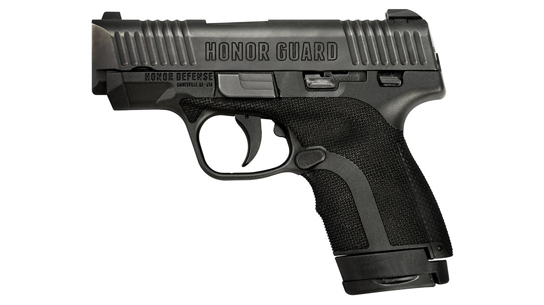 honor defense honor guard pistol left profile