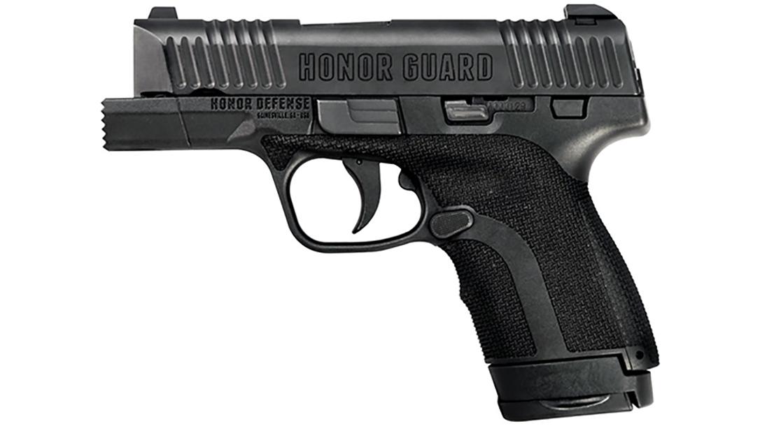honor defense honor guard fist pistol