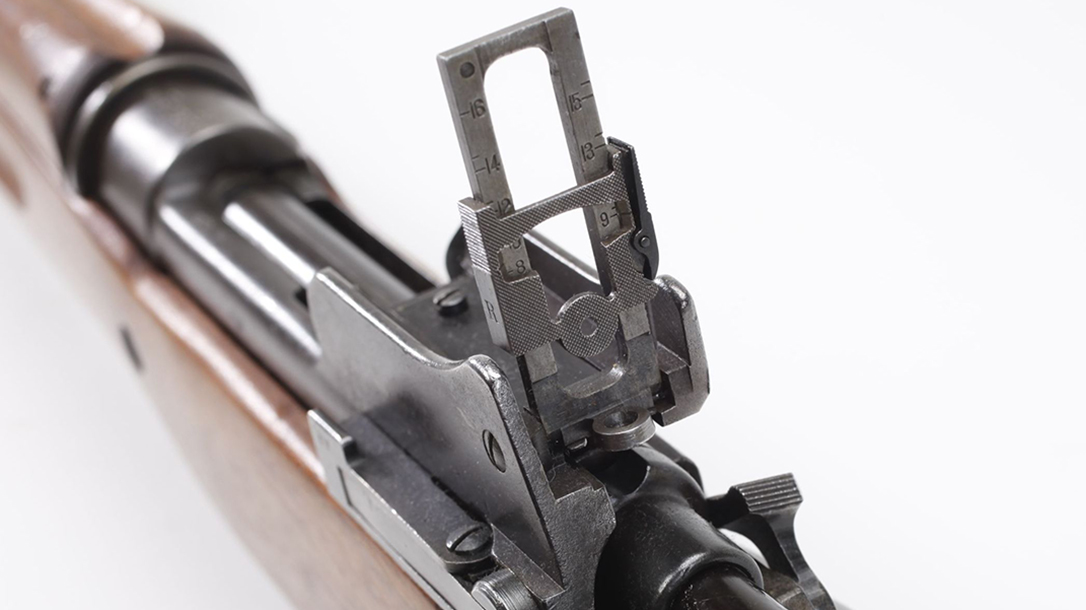 M1917, M1917 Enfield, M1917 Enfield rifle, M1917 Enfield rifle rear sight
