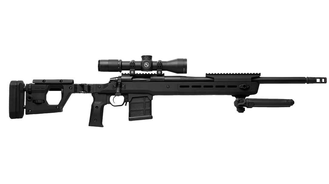 Magpul Pro 700 rifle chassis right profile