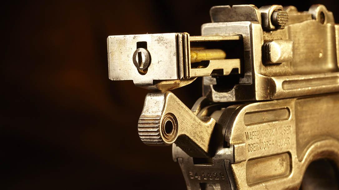 mauser, mauser c96, mauser c96 pistol, mauser c96 broomhandle, broomhandle pistol, mauser c96 pistol bolt