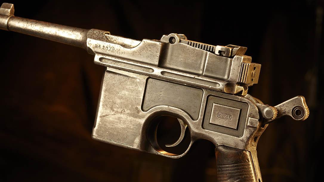 mauser, mauser c96, mauser c96 pistol, mauser c96 broomhandle, broomhandle pistol, mauser c96 pistol frame