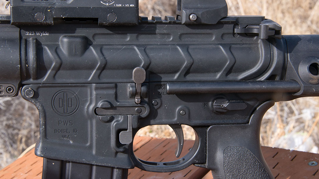 primary weapons systems, pws mk107, pws mk107 mod 2, pws mk107 mod 2 rifle controls