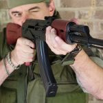 palmetto state armory psak-47 rifle front angle