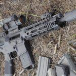 Remington R5 RGP rifle right angle