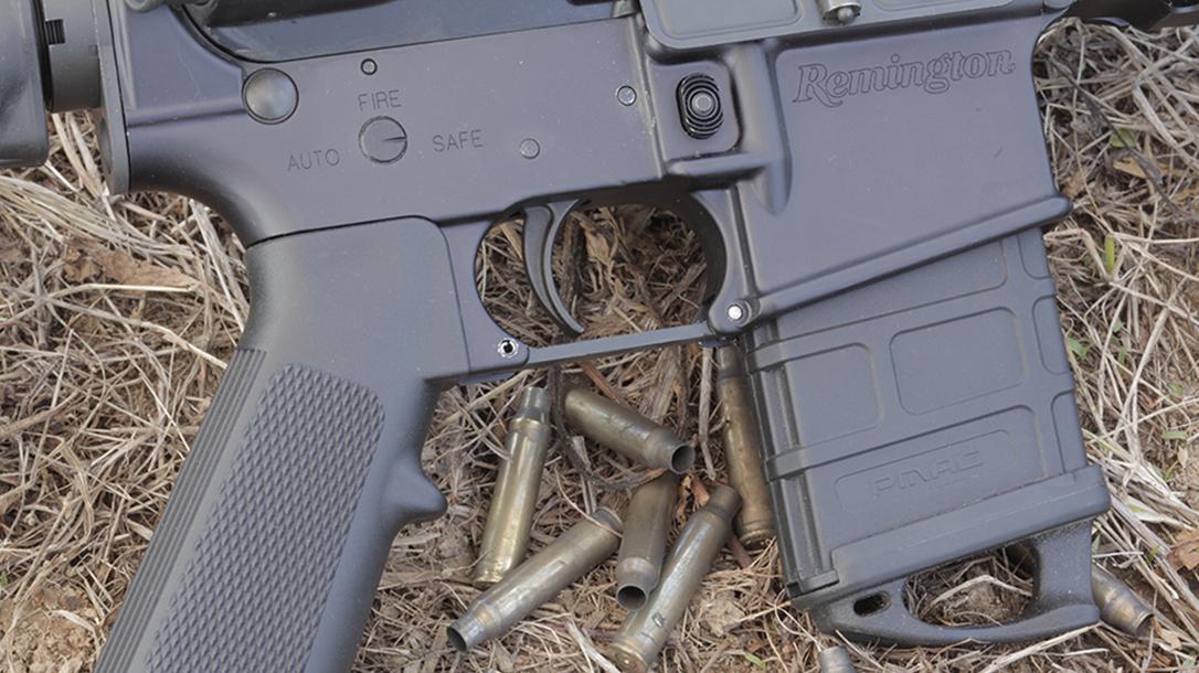 Remington R5 RGP rifle controls
