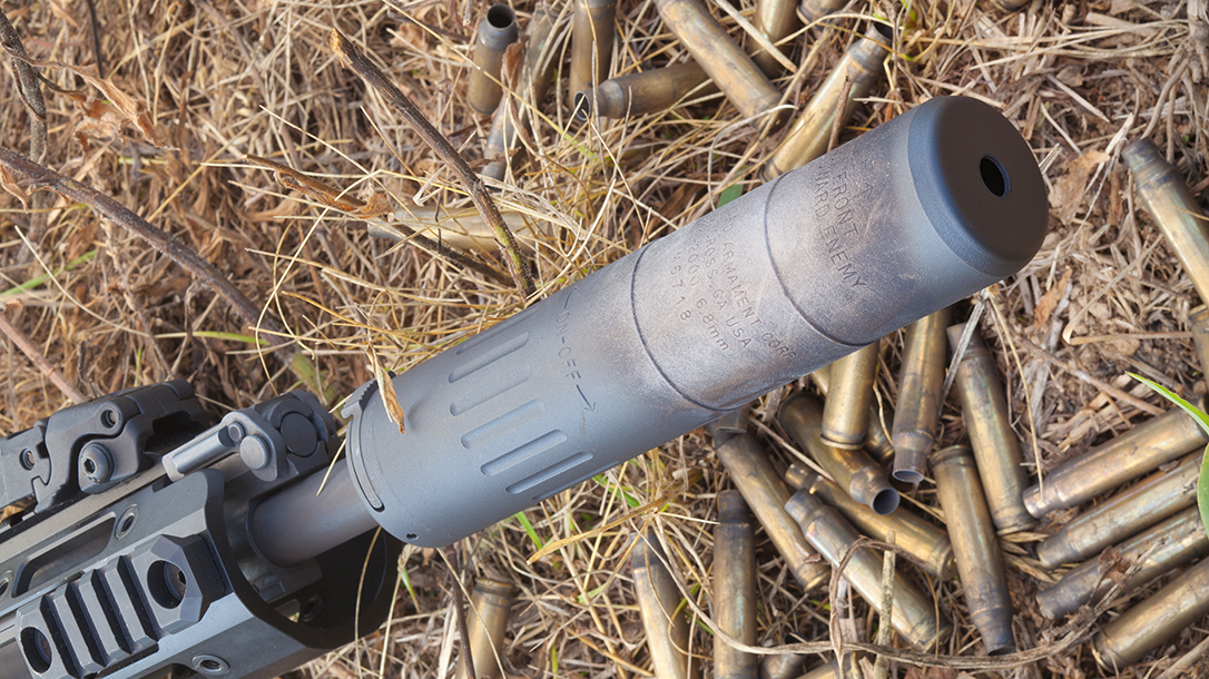 Remington R5 RGP rifle suppressor