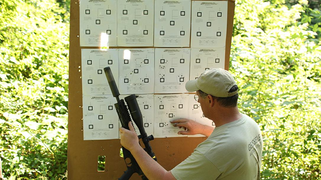 Remington R5 RGP rifle target