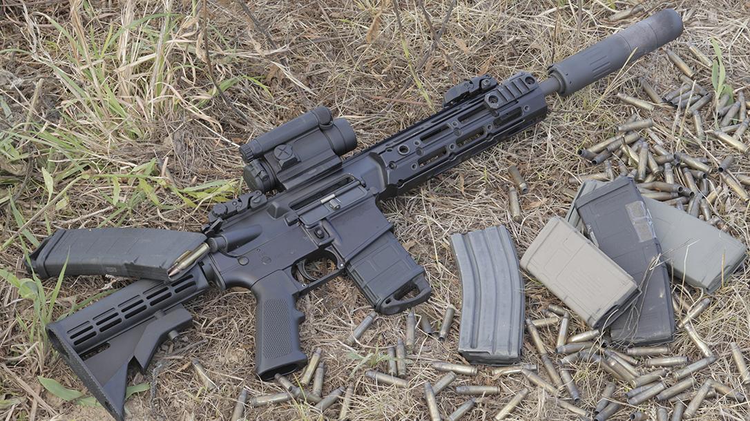 Remington R5 RGP rifle range