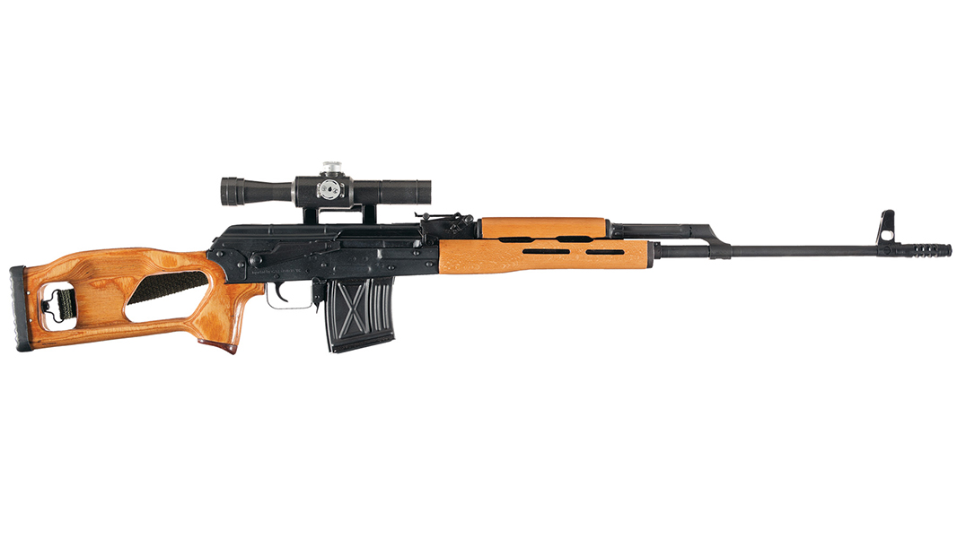romanian psl rifle right profile