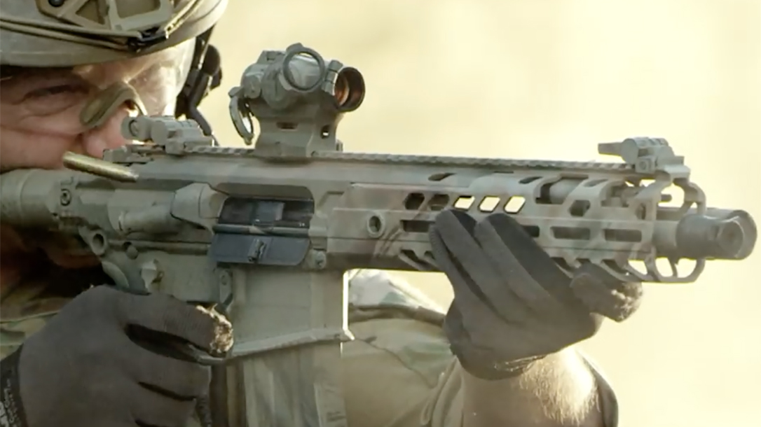 sig mcx rifle closeup
