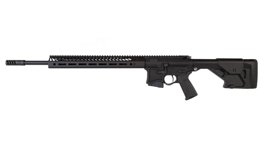 Seekins VKR20 224 valkyrie rifle left profile