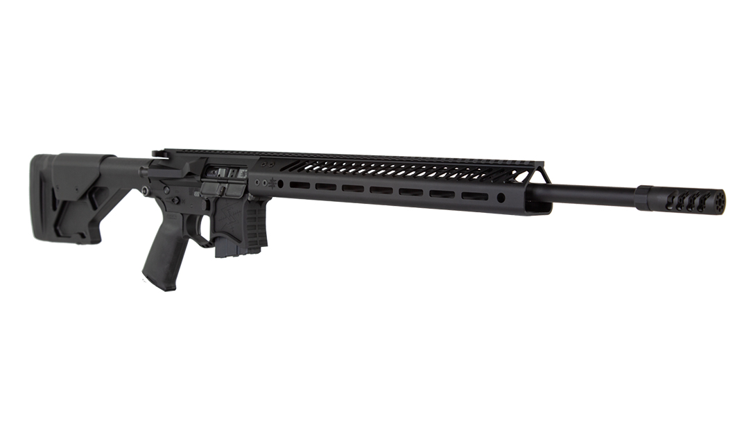 Seekins VKR20 224 valkyrie rifle right angle