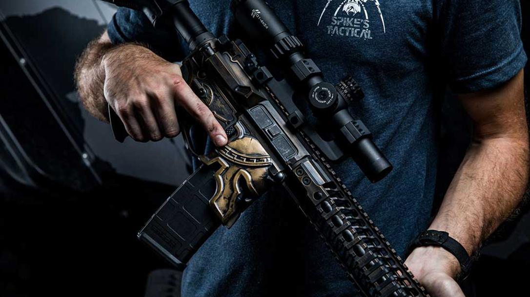 Spike's Tactical Spartan AR lower angle
