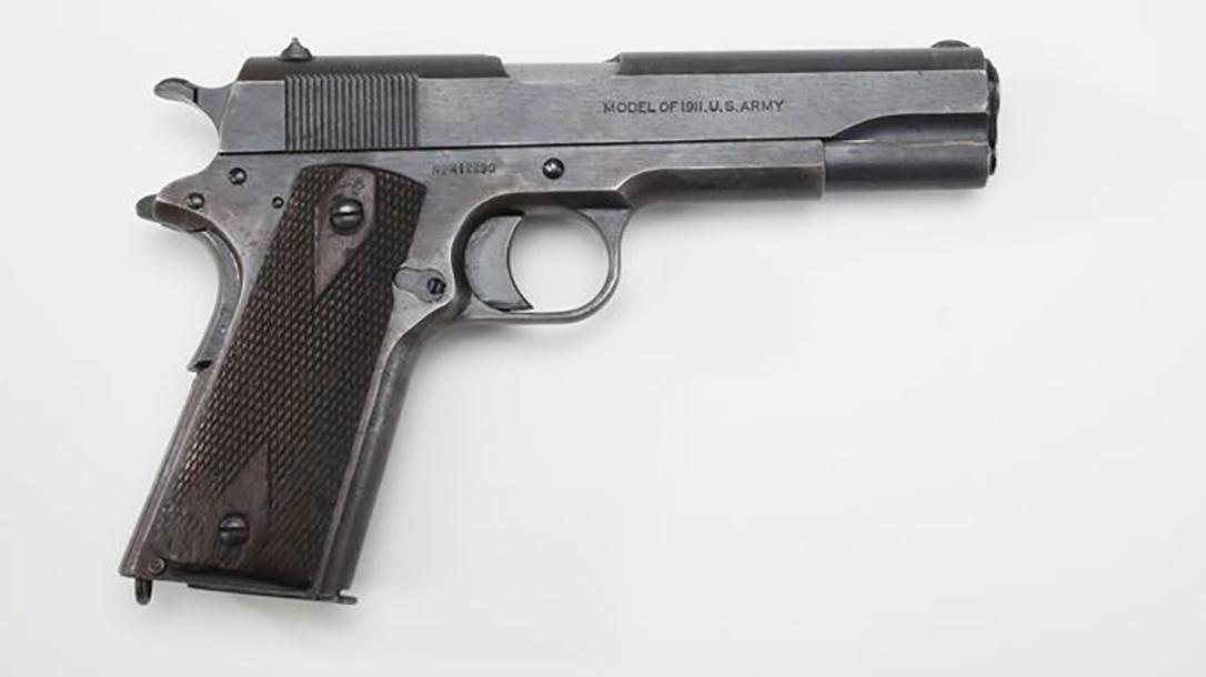 surplus 1911, 1911, 1911 pistol, 1911 pistol right profile