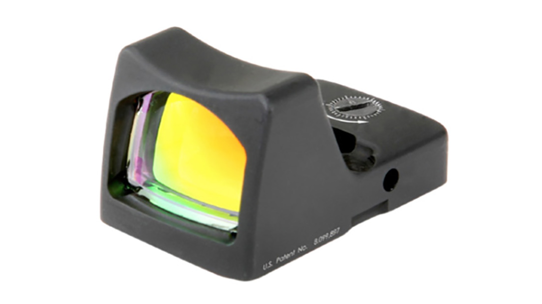 trijicon, trijicon rmr type 2, trijicon sight, trijicon handgun reflex sight, handgun reflex sight, ussocom handgun reflex sight, ussocom handgun, trijicon rmr type 2 led