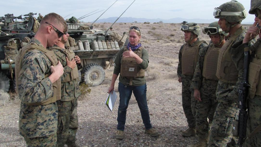 Lightweight Hard Armor Plate, marines, testing