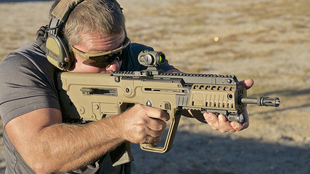iwi, iwi us, iwi tavor, iwi tavor x95, iwi tavor x95 rifle, iwi tavor x95 rifle shooting