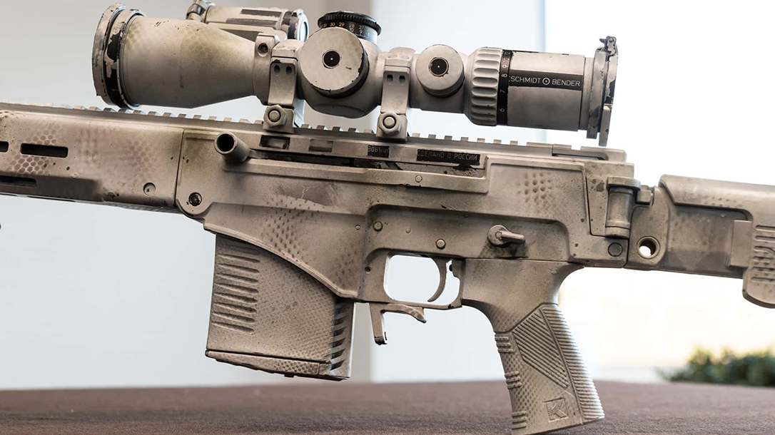 Kalashnikov SVCh-308, SVCh-308 rifle, SVCh-308 rifle scope