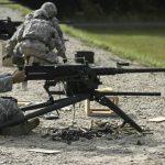 m2a1, m2a1 machine gun, m2a1 machine guns, brazil army m2a1, m2a1 machine gun firing