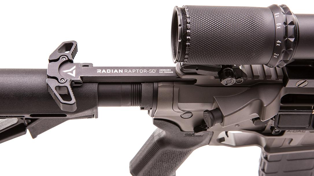 radian firearms, radian model 1, radian model 1 rifle, radian model 1 rifle charging handle